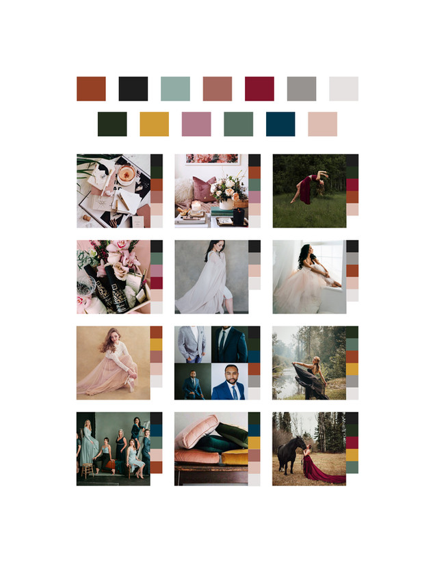 Emily Jane Inc Colour Sampling