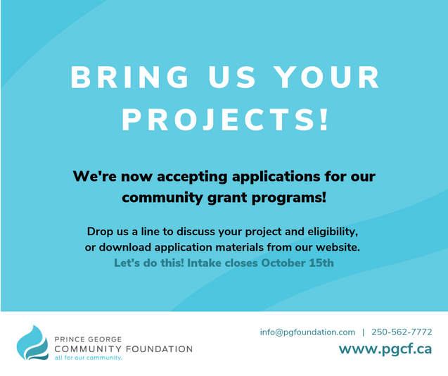 PG Community Foundation Social Media and Ad Graphics