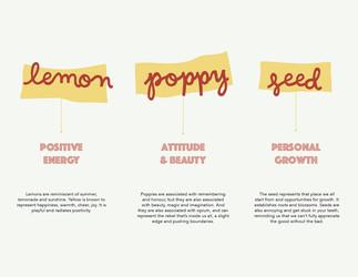 Lemon Poppyseed Girl Brand