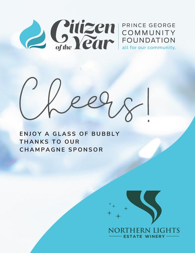 PG Community Foundation Event Signage