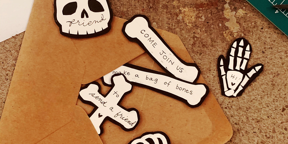 Letter Writing Club - Bag of Bones