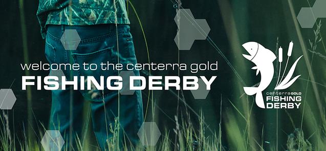 Centerra Gold Fishing Derby Banner