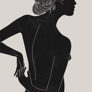 Emily Jane Inc Female Form Illustration Element