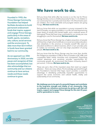 PG Community Foundation Case for Support Document