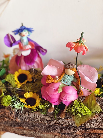 Floral Faerie Doll Craft