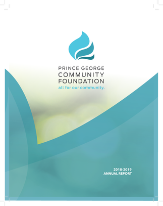 PG Community Foundation Annual Report Cover