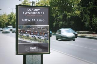 Hayer Construction Signage