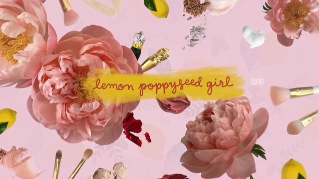 Lemon Poppyseed Girl YouTube Graphic