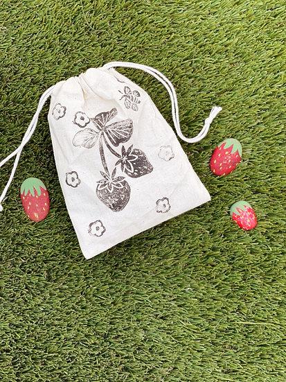 Strawberry Pouch Craft