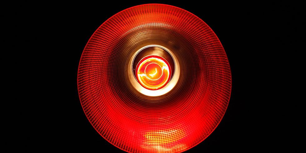 Red Light Paint Night
