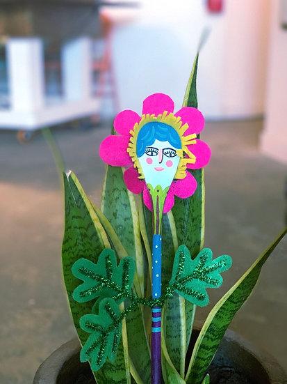 Wooden Spoon Puppet - Flower Craft
