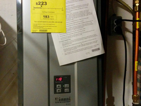 Should i go with a Tankless water heater? and if so what size?