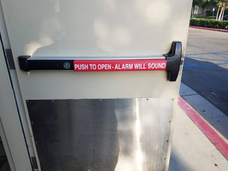 Push Bar / Panic Bars