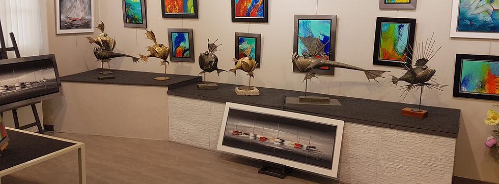 Galerie sculptures pont aven