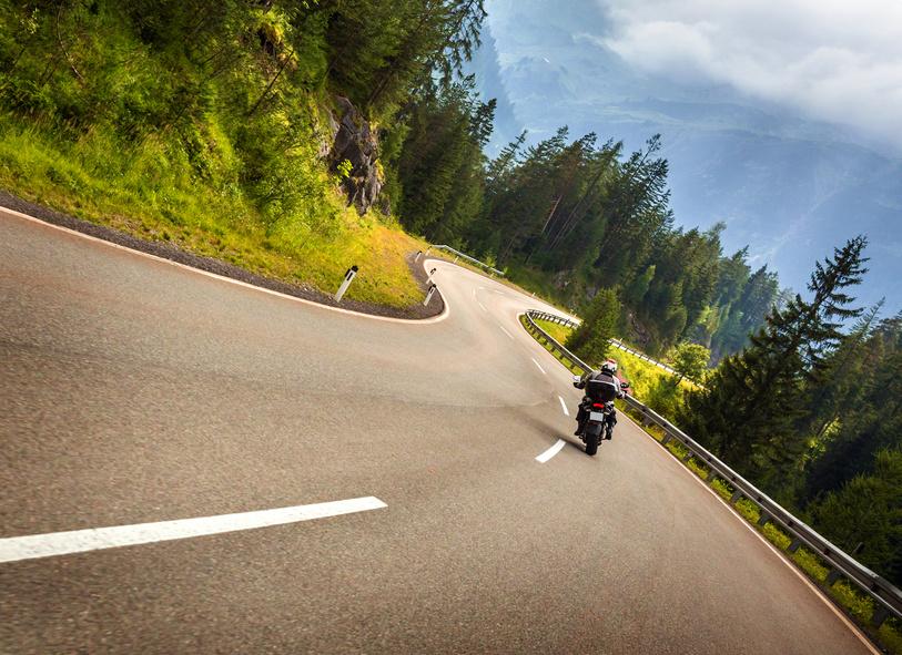 Motorradfahren im Wehratal