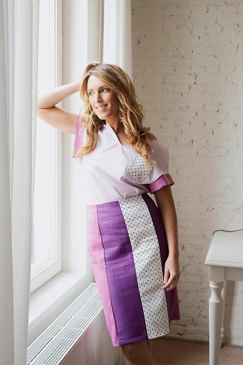 Multi-Print Skirt