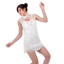 dress, knit with paper/silk yarn