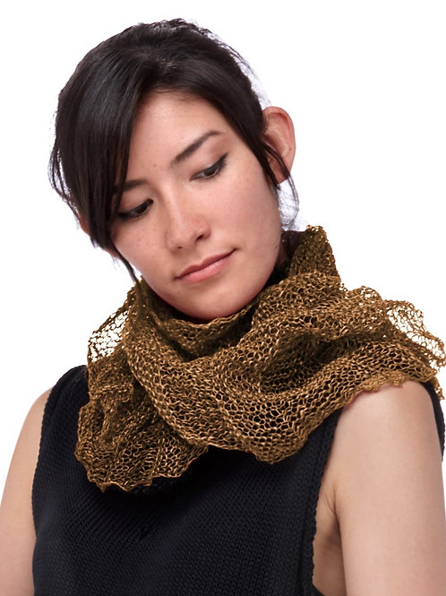 Paper Mobius Infinity Scarf  -  Copper