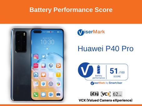 Huawei P40 Pro - Battery Performance Score
