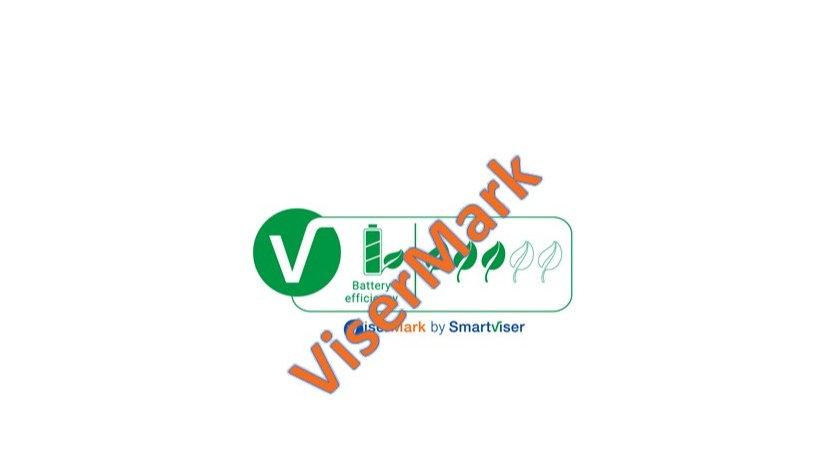 Battery Power Efficiency Label - 3