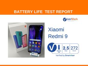 Xiaomi Redmi 9 ViserMark Battery Life