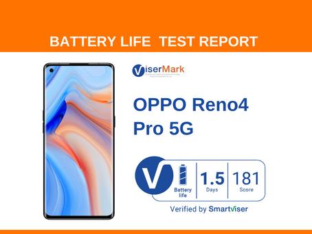 OPPO Reno4 Pro 5G ViserMark Battery Life