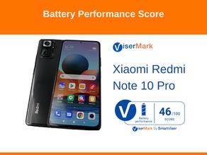 Xiaomi Redmi Note 10 Pro -Battery Performance Score