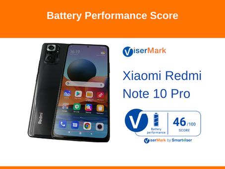Xiaomi Redmi Note 10 Pro - Battery Performance Score