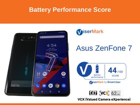 Asus ZenFone 7 - Battery Performance Score
