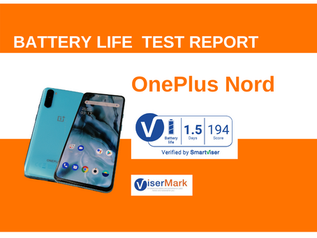 One Plus Nord ViserMark Battery Life