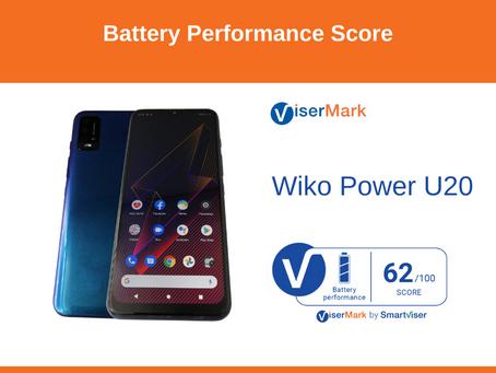 Wiko Power U20 - Battery Performance Score