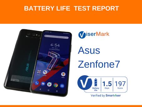 Asus ZenFone 7 ViserMark Battery Life