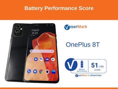 OnePlus 8T - Battery Performance Score