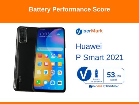 Huawei P Smart 2021 - Battery Performance Score