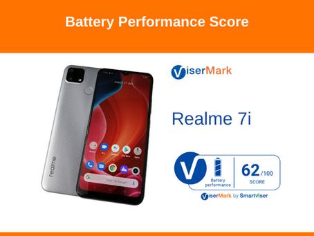 Realme 7i - Battery Performance Score
