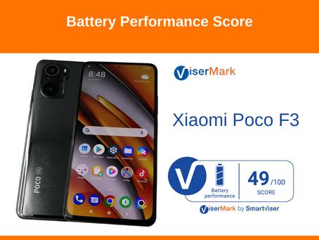 Xiaomi Poco F3 - Battery Performance Score