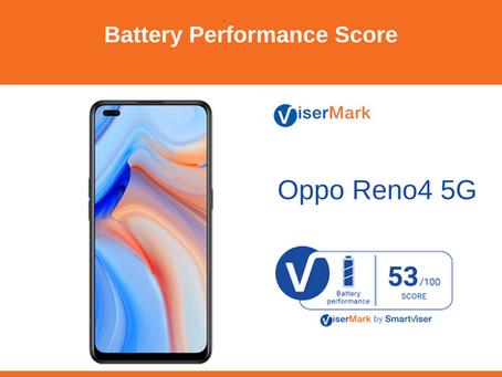 OPPO Reno 4 5G - Battery Performance Score