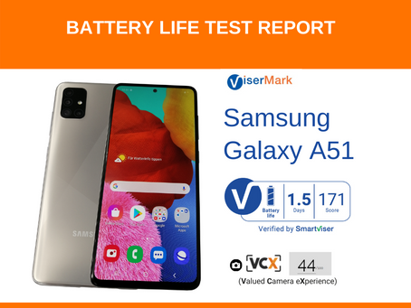 Samsung Galaxy A51 ViserMark Battery Life
