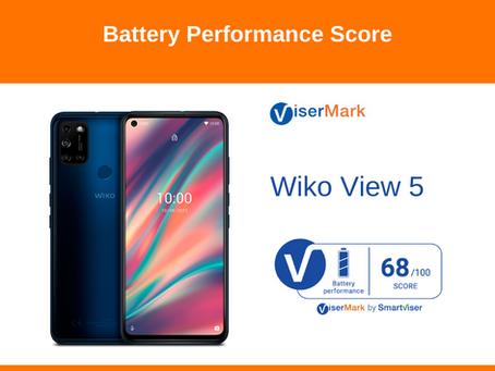 Wiko View 5 - Battery Performance Score