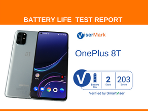 OnePlus 8T ViserMark Battery Life