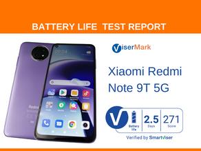 Xiaomi Redmi Note 9T 5G ViserMark Battery Life