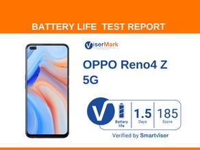 OPPO Reno4 Z 5G ViserMark Battery Life