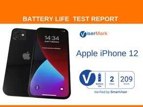 Apple iPhone 12 ViserMark Battery Life