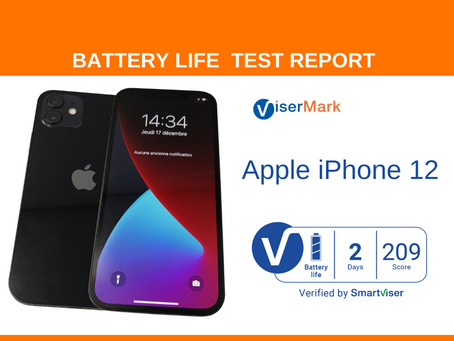 Apple iPhone 12 ViserMark Battery Life