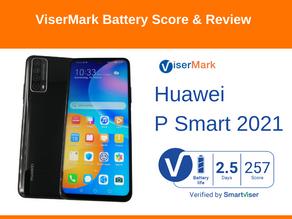 Huawei P Smart 2021 ViserMark Battery Life