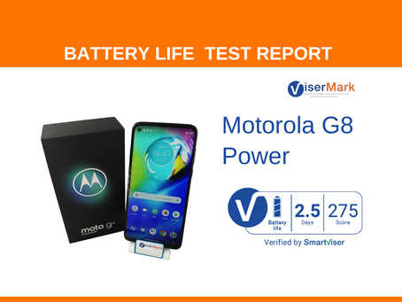 Motorola G8 Power ViserMark Battery Life