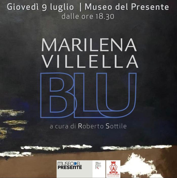 """MARILENA VILLELLA """"BLU"""" a cura di Roberto Sottile"""