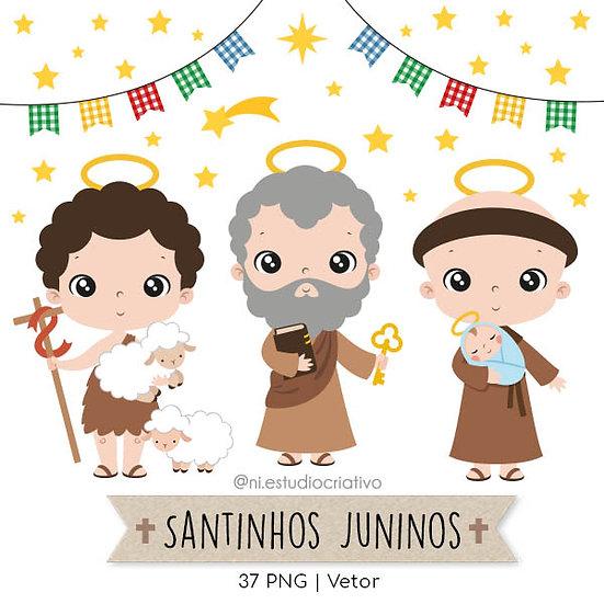 Kit Digital Santinhos Juninos