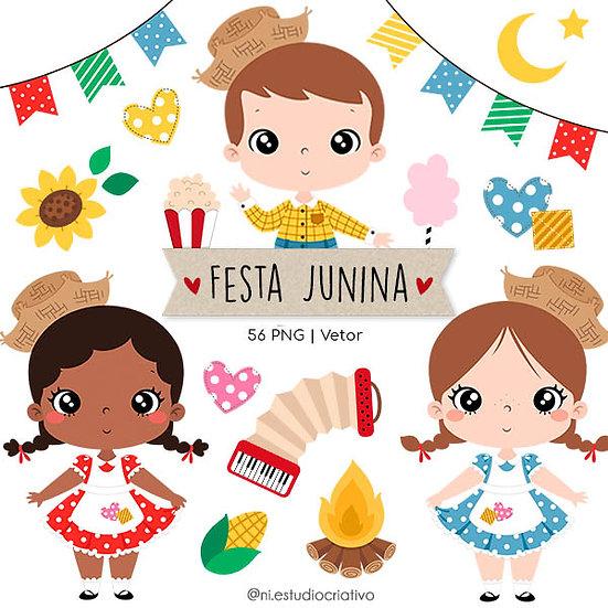 Kit Digital Festa Junina
