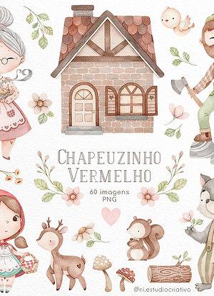 Kit Digital Chapeuzinho Vermelho